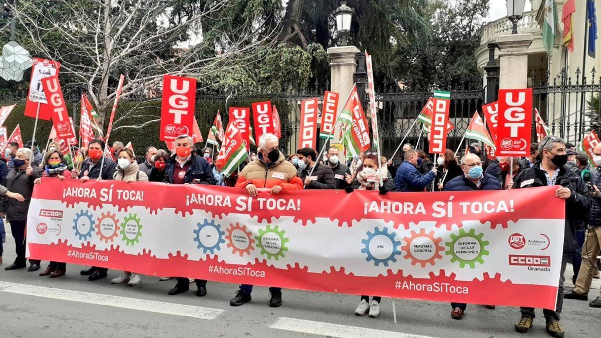Movilización en Granada