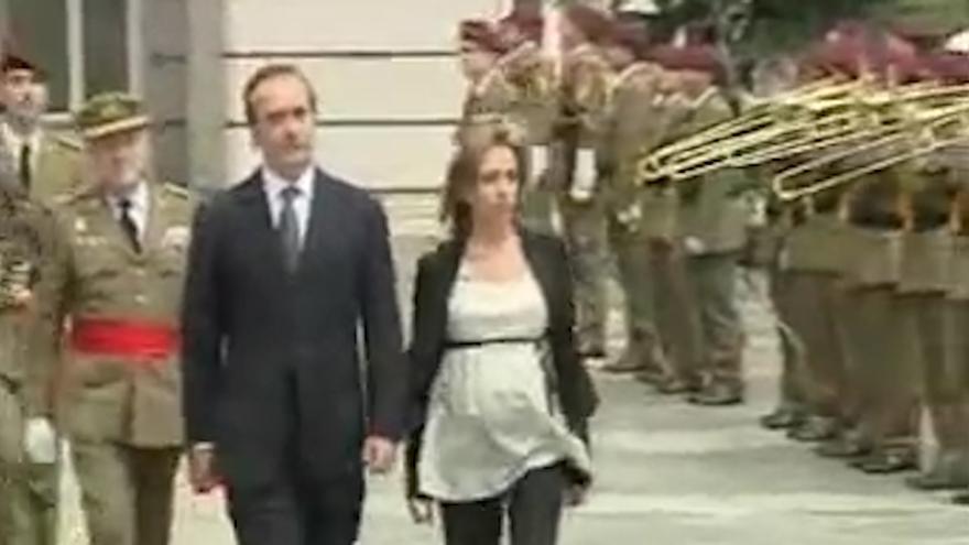 Carmen Chacón ejército