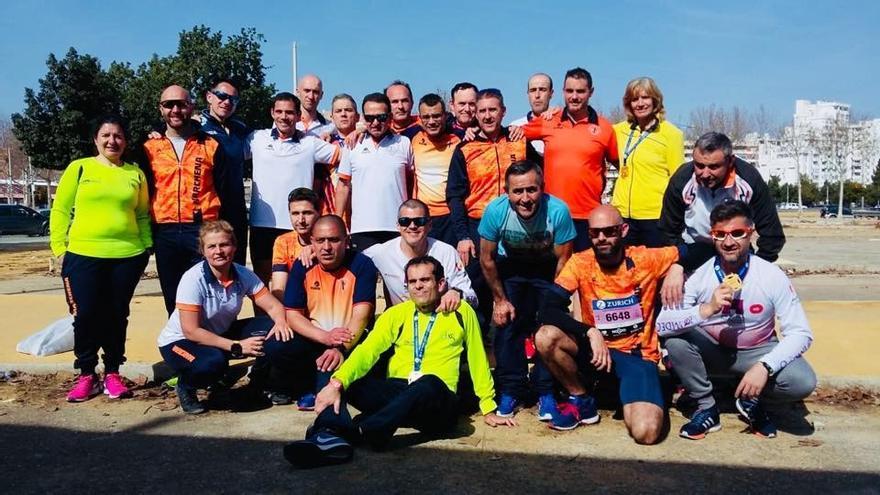 Atletismo: No faltó a su cita con el Maratón de Sevilla