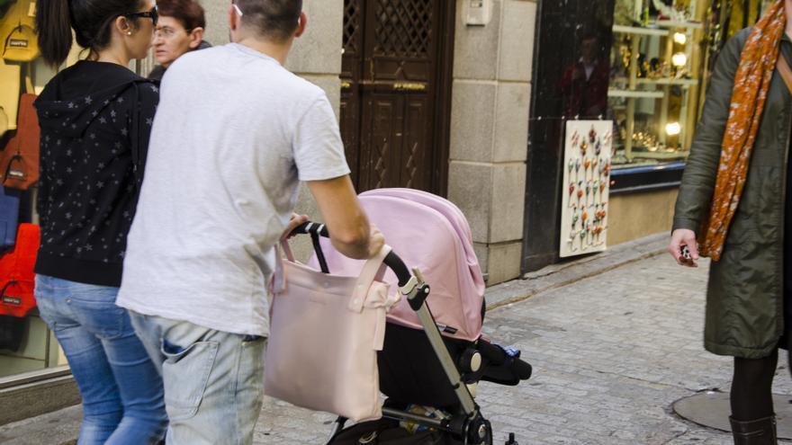 El gasto en prestaciones por maternidad en Euskadi cae un 6,27% en 2013 y el de paternidad un 5,78%