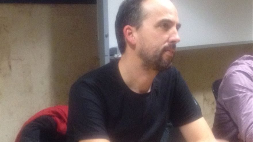El profesor de la UPV de energías renovables, Aitor Urresti.