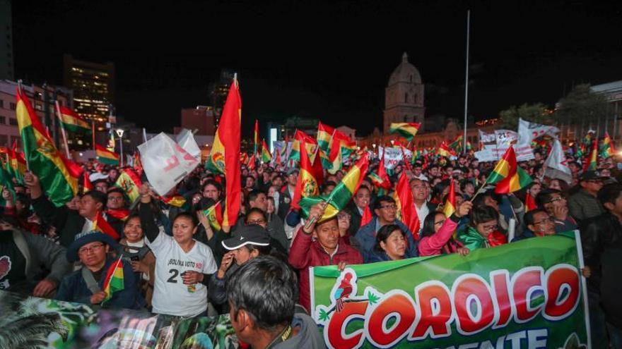 Miles de bolivianos claman contra Evo Morales a pocos días de las elecciones