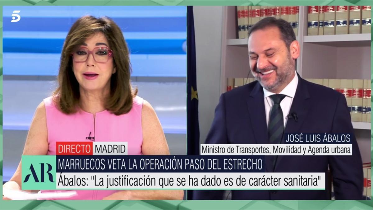 José Luis Ábalos en 'El programa de AR'