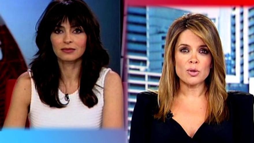 Baile oficial de caras en Informativos Mediaset: Marta Fernández desaparece