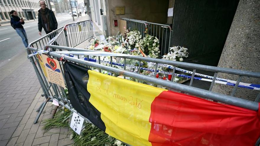 Detienen a manifestantes antirracistas concentrados en la Bolsa de Bruselas