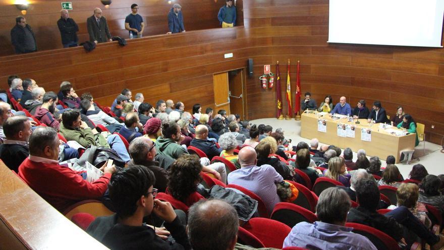 Acto de confluencia de IU-Verdes y Anticapitalistas de Murcia