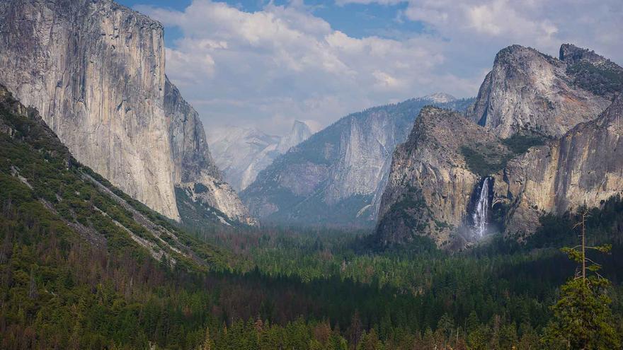 El Tunnel, una de las imágenes paradigmáticas del Parque Nacional de Yosemite. Dan Zafra