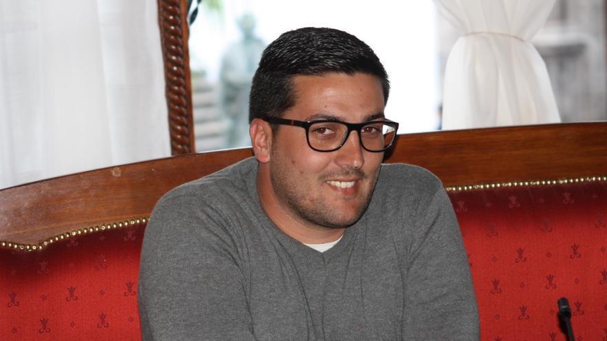 Raico Arrocha, concejal de Deportes y Juventud de Santa Cruz de La Palma.
