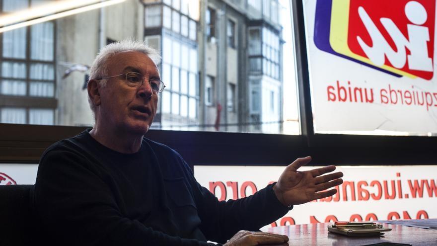 Cayo Lara, coordinador federal de Izquierda Unidad.   JOAQUÍN GÓMEZ SASTRE