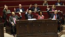 Els regidors del PP de València durant el passat mandat