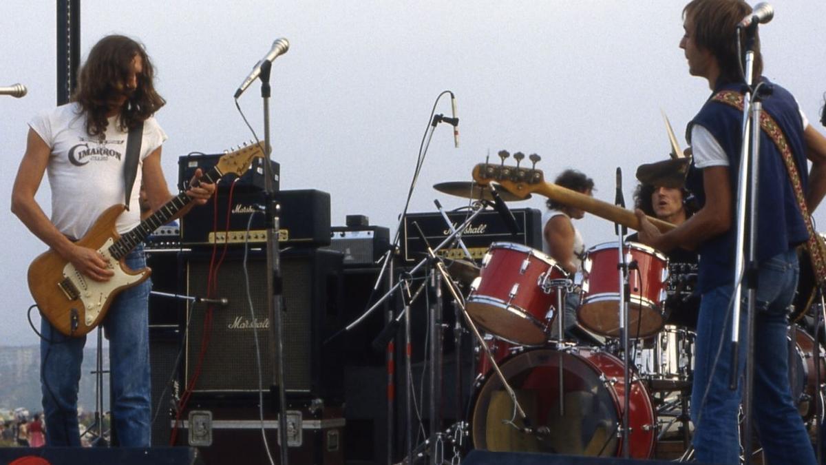 El  grupo Leño, que grabó su mítico disco en directo durante tres conciertos en el Carolina