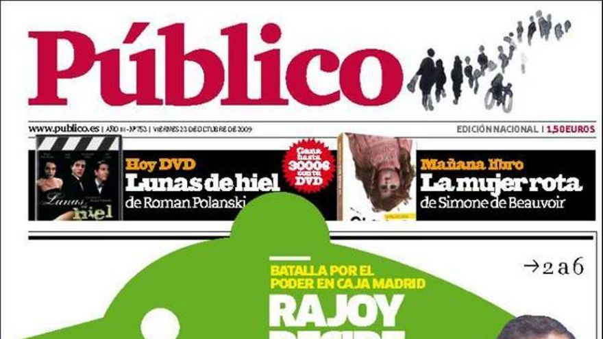 De las portadas del día (23/10/2009) #1