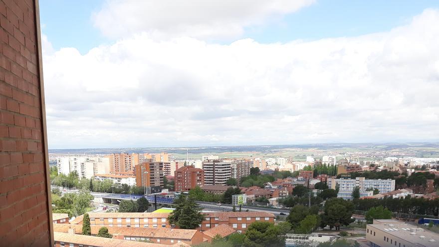 Vista de Guadalajara desde el Hospital de la ciudad