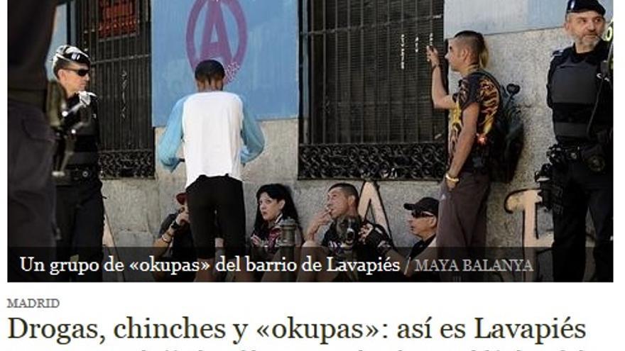 Titular diario ABC