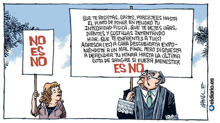 Es no (30/11/2019), por Manel Fontdevila