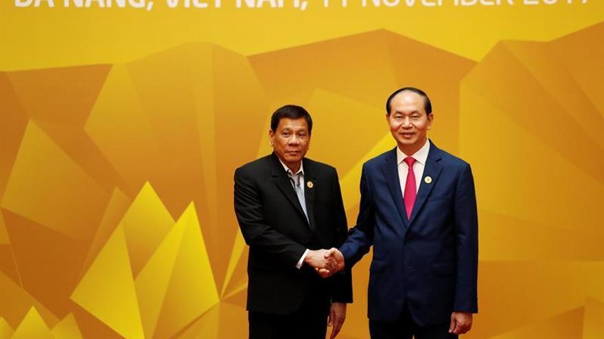 Duterte dice que nadie quiere una guerra en el mar de China Meridional