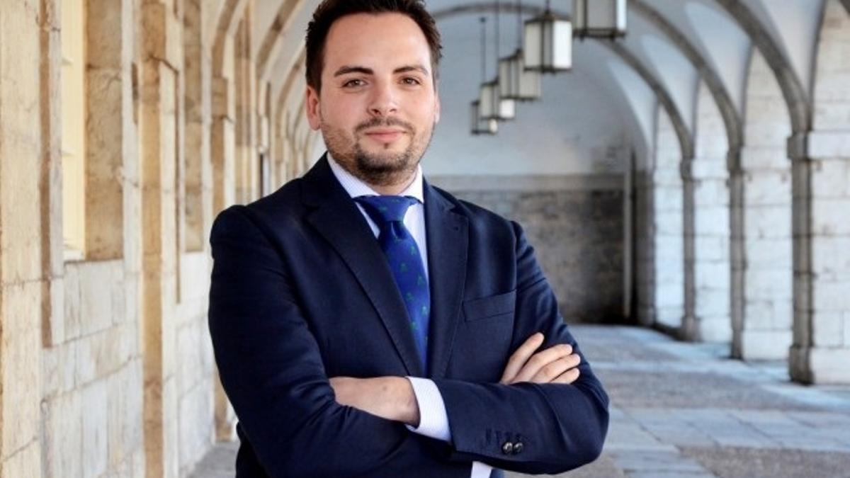 El diputado del PP Álvaro Aguirre