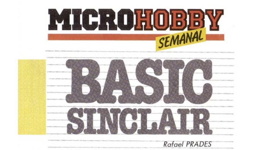 El curso de BASIC comenzó a salir en el primer número de la revista