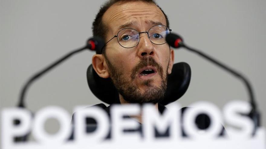 """Echenique reprocha al Gobierno el """"saqueo"""" que hace de la hucha de pensiones"""