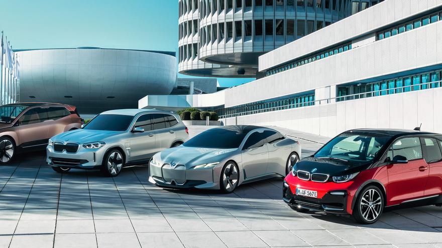 Quinta generación de la tecnología BMW eDrive.