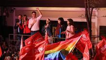 El PSOE se impone en siete de las grandes ciudades españolas y PNV logra la octava