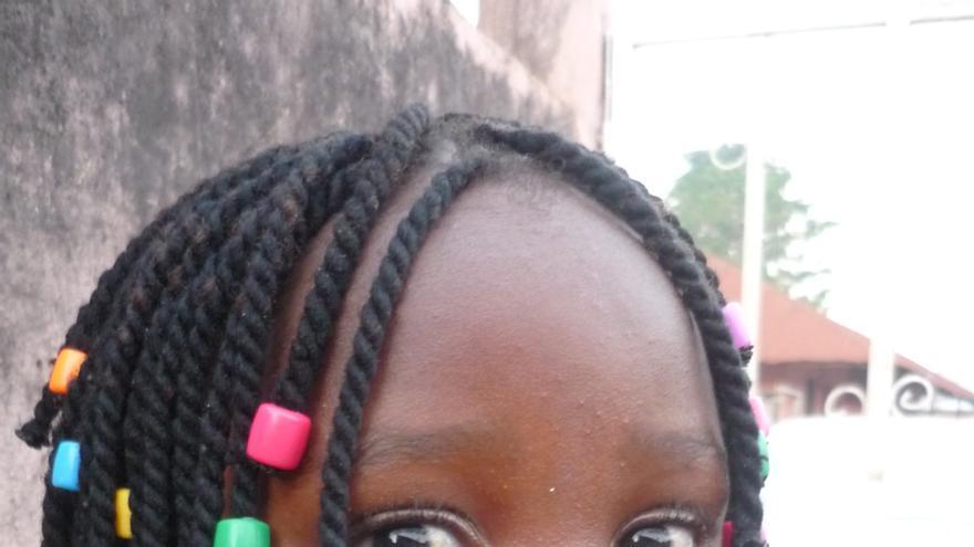 Una imagen tomada en Guinea, y con la que MdM ha elaborado el cartel de las charlas / Foto: Estrella Miqueleiz.