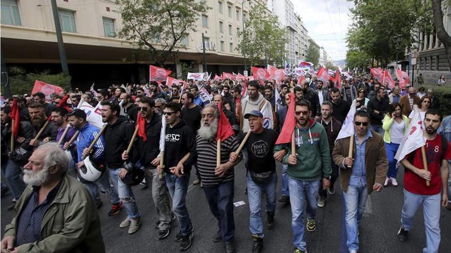 Segundo día de huelga general de 48 horas contra la reforma de pensiones