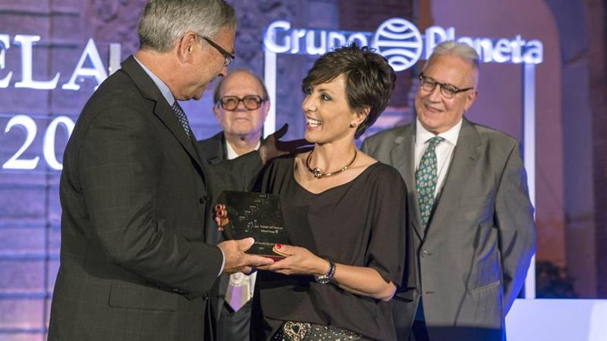 La periodista Sonsoles Ónega gana el Fernando Lara con una novela de amor