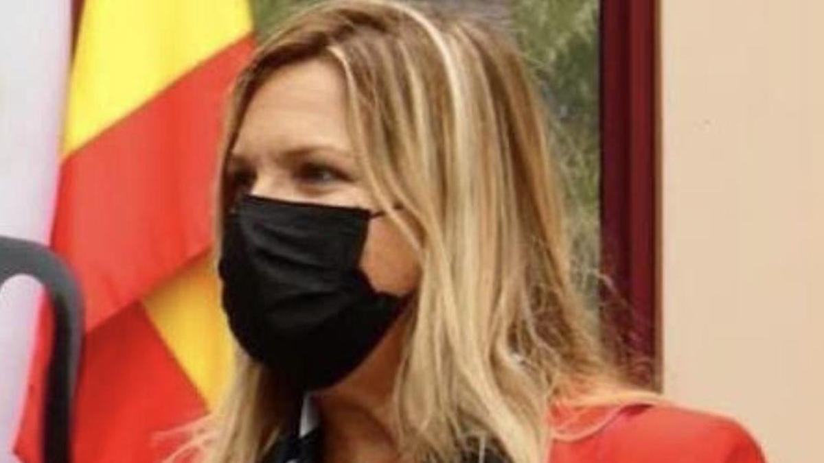 Ana María de León, directora insular de la Administración General de Estado en La Palma.