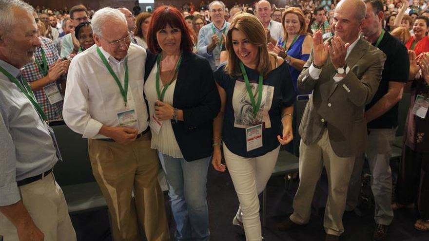 Respaldo mayoritario a la gestión de Susana Díaz, con un 94,8 % de apoyo