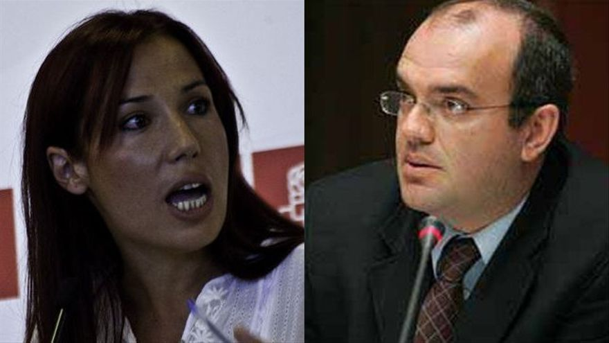 Patricia Hernández y Anselmo Pestana.