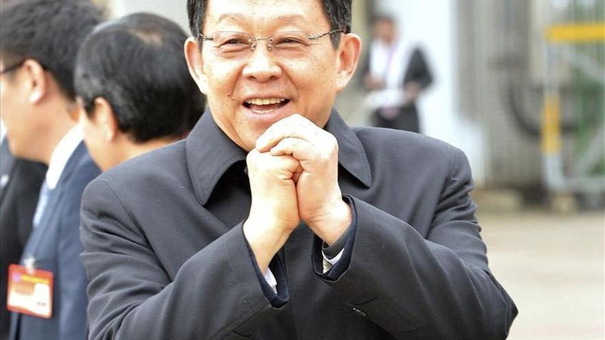 El máximo negociador chino con Taiwán inicia visita clave antes de los comicios