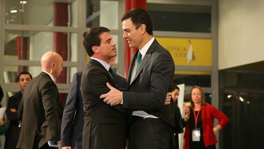 """Valls dice que los socialistas prometen """"lo que se puede hacer"""" y no """"demagogia"""" como los """"populismos"""""""