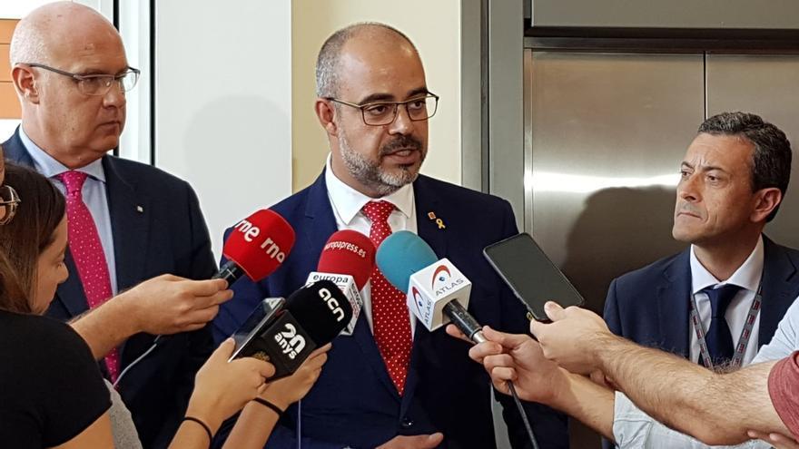 Buch dice que ni hay ni habrá motivos para aplicar la Ley de Seguridad en Cataluña porque los Mossos cumplen