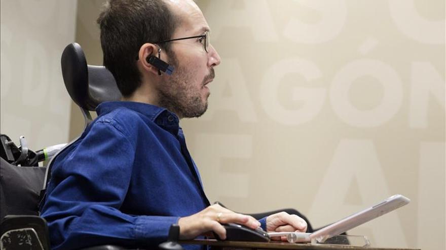 Echenique:La incorporación del ex Jemad encaja con la forma de ver de Podemos