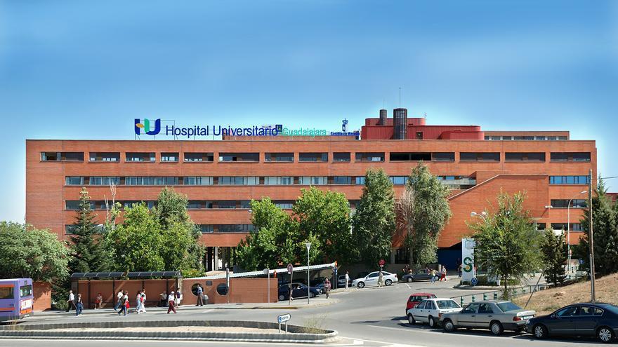 Hospital de Guadalajara. / Foto: SESCAM.