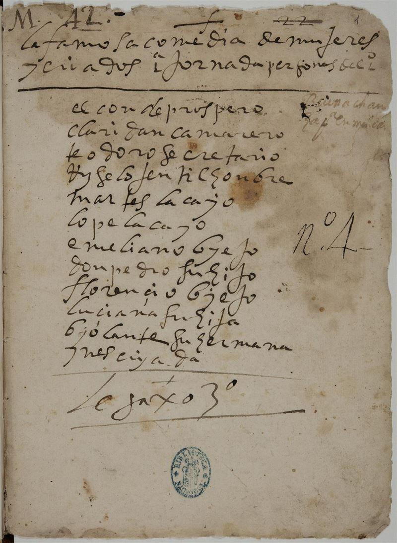 Fragmento hallado de la obra de Lope de Vega