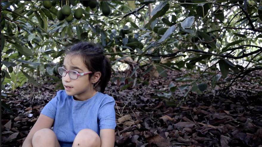 Captura de pantalla del vídeo ganador.