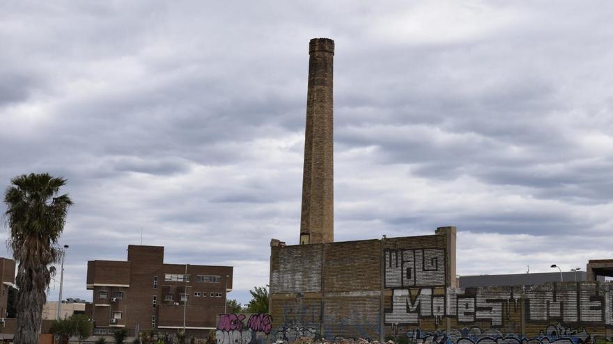 Estado actual del conjunto industrial de la antigua fábrica