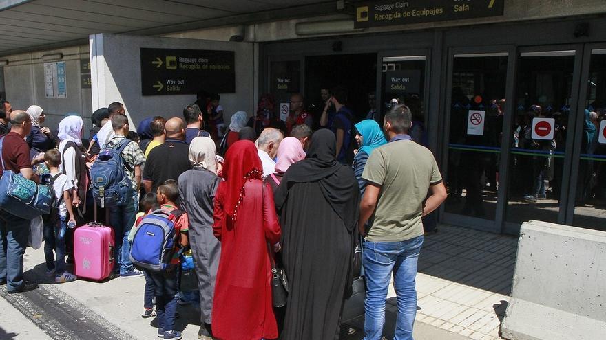 La población refugiada, en los Cursos de Verano