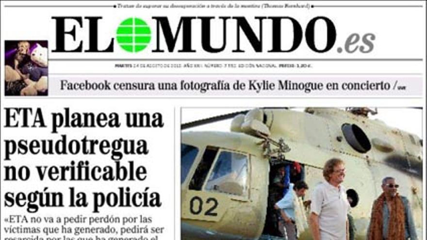 De las portadas del día (24/08/2010) #4