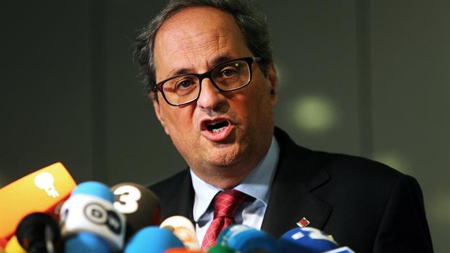 Torra pedirá una reunión a Rajoy para que levante el 155 y la intervención financiera