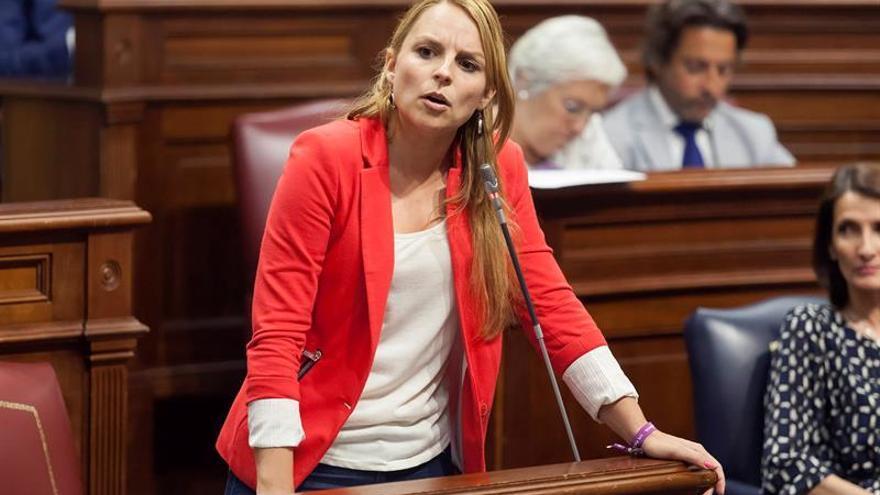 La diputada del Grupo Parlamentario de Podemos, Noemí Santana.