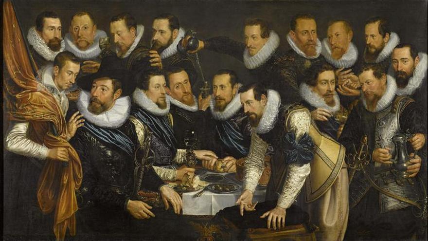 """Retratos """"gigantes"""" del Siglo de Oro holandés expuestos juntos por primera vez"""