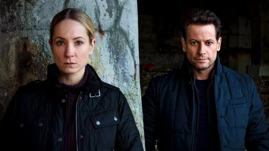Joanne Froggatt e Ioan Gruffudd en 'Liar'