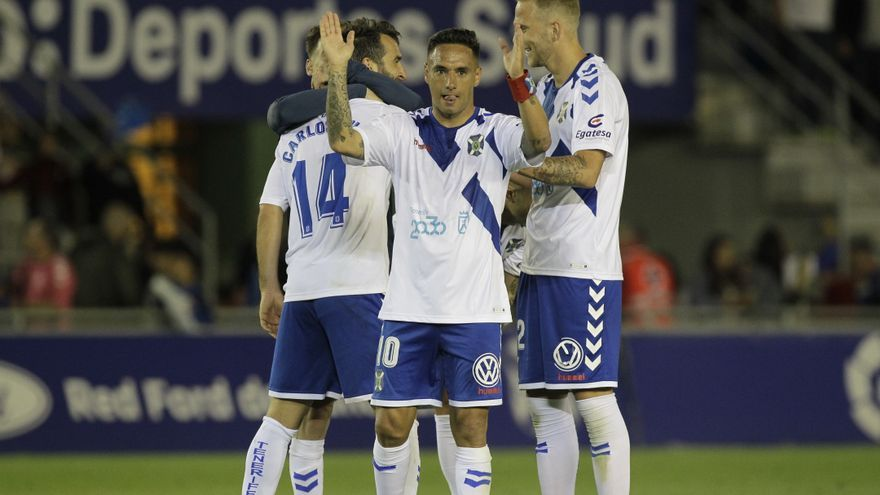 Suso Santana, capitán del CD Tenerife