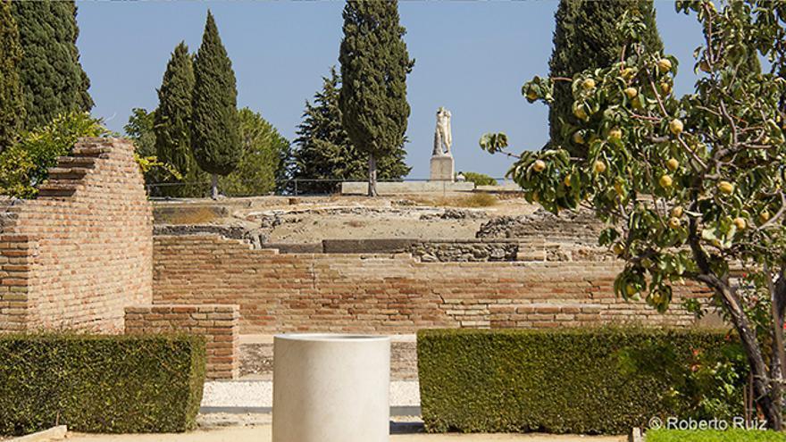 Las ruinas de Itálica, en Santiponce, Sevilla
