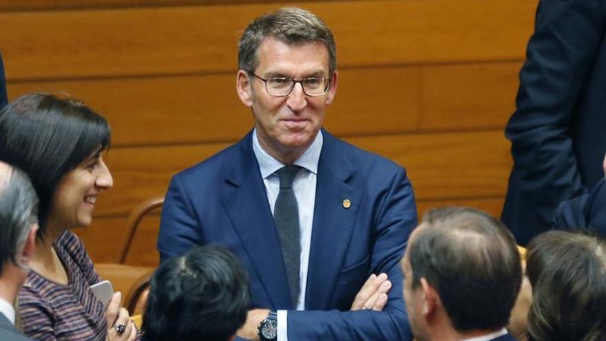 Núñez Feijóo promete su cargo como presidente de la Xunta