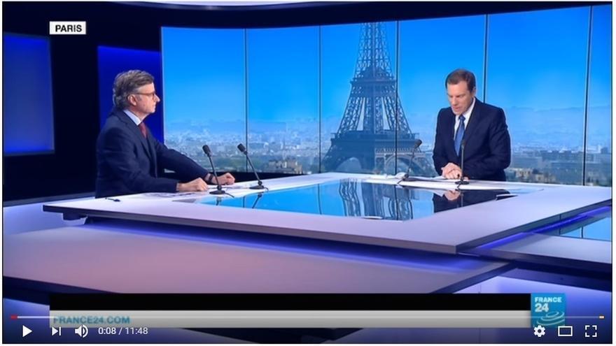 """Francia insiste que debe """"debe resolverse en el marco constitucional español"""""""
