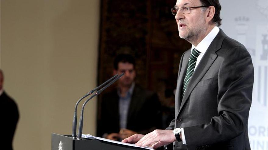 """Rajoy expresa su apoyo al campo español, """"un verdadero latifundio de talento"""""""